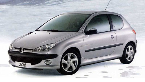 essai peugeot 206 2 0 l hdi 90 ch passion automobile info. Black Bedroom Furniture Sets. Home Design Ideas