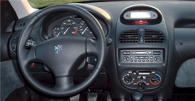 Essai peugeot 206 2 0 l hdi 90 ch passion automobile info for Interieur 206 s16